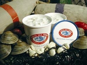 Legal Seafood Clam Chowder