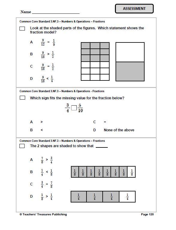 3rd Grade Pennsylvania Common Core Math
