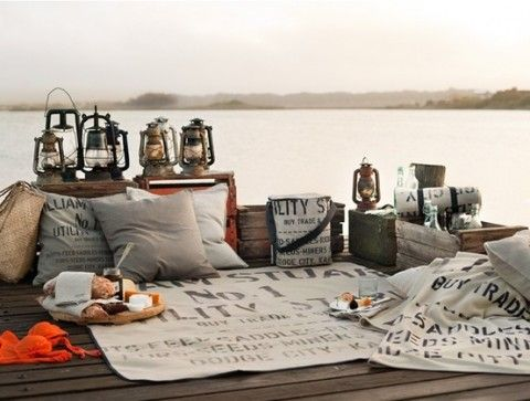 #IgniteTheSpark with a picnic for two.
