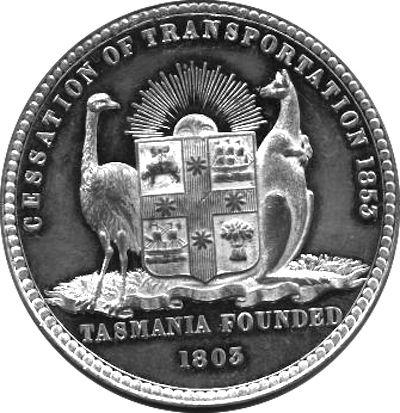 William Cuffay: 1778 - 1870: Van Diemen's Land, Transportation ends 1853.