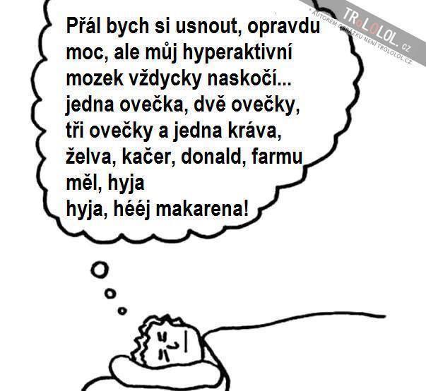 Těžké spaní