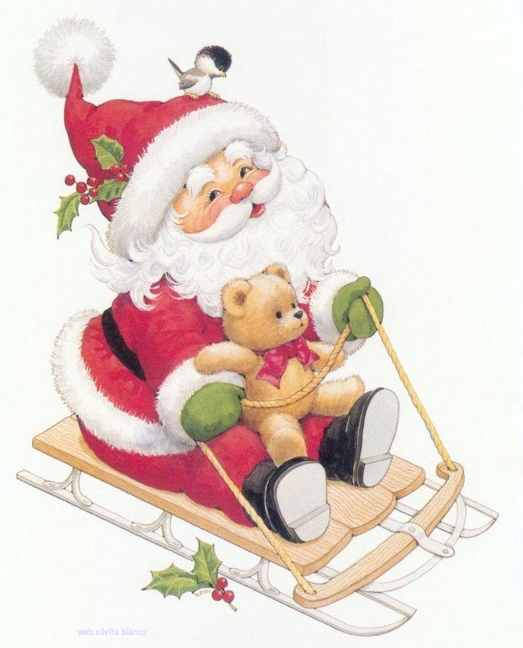 christmas santa | ... Navideñas Tarjetas Postales Tamaño Grande Gratis Christmas Cards