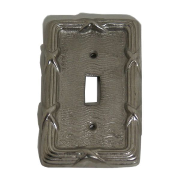 Great For Updating An Old Switch Plate To New Vintage Style Single Toggle Switch  Plate , This Vintage Style Solid Brass Switch Plate Features A Unique Cross  ...