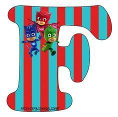 Hermoso Abecedario de los Héroes en Pijamas, o Pj Masks, como más te guste llamarlo. Todas las letras que contienen aCatboy, Gekko y Owlette se encuentran subidas al sitio en perfecta calidad de i…