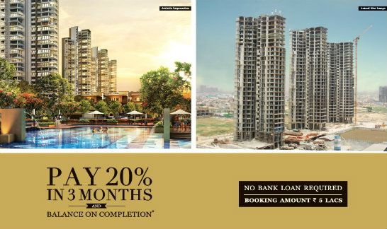 Puri Emerald Bay Sector 104, Gurgaon is available on dwarka expressway . Under construction  this is a great property to buy in INDIA. Pay just 20% balance on Possession. No loan No interest... Hurry mail to rrvivekgupta@gmail.com today
