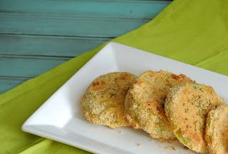 The Girl with the Wooden Spoon: Baked Green Tomatoes
