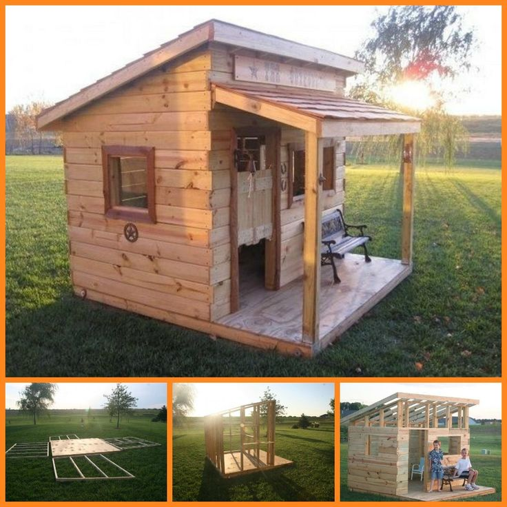Is there any child who doesn't like a fort or cubby house to play in? This western saloon would surely never be empty!  This fort was inspired by saloon style playhouses sold online. But instead of buying, the owners decided to build their own!  Learn how it's made by viewing the full tutorial here:  http://theownerbuildernetwork.co/a776