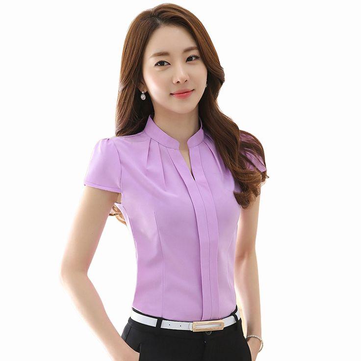 Women Shirts Fashion Sexy New 2016 Spring Stand collar Long sleeved Women tops Plus size Elegant Chiffon Blouses shirt