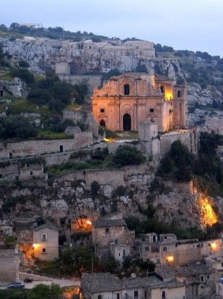 Scicli, San Matteo, Italia. Sicily. Montalbano fiction. www.ilpoggiodellecicale.it