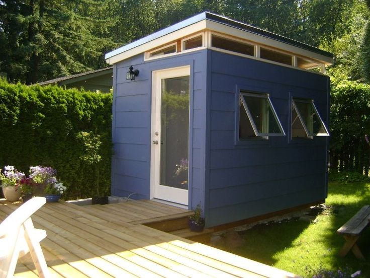 Backyard Bedroom Kit: 8' x 12' Teenage Dream | Modern-Shed Kit