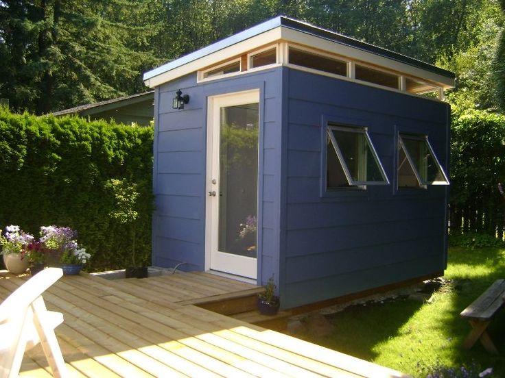 Backyard Bedroom Kit: 8' x 12' Teenage Dream   Modern-Shed Kit