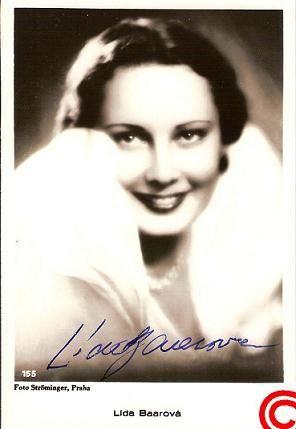 *-*Lída Baarová - Lída Baarová (1914-2000) bola česká herečka. Jej skutočné meno bolo Ludmila Babková. Prvý film Pavla Čamrdu Kariéra (1931)mal veľký úspech. Neprešiel ani rok od debutu, a už mala za sebou osem filmov. Začala hrať aj v Nemecku. Čoskoro dostala ponuku z Hollywoodu.