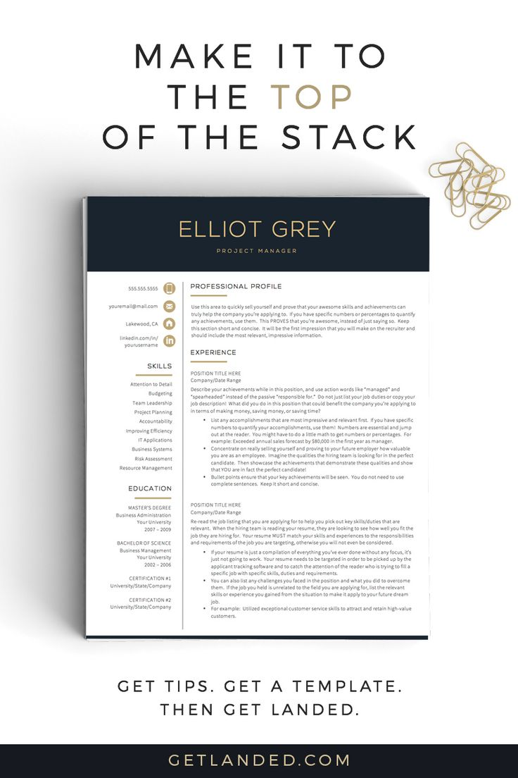 141 best images about professional resume templates on pinterest