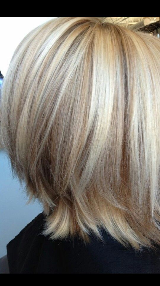 Perfect blonde hair with lowlights.. not the cut but the color