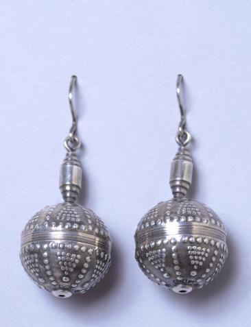 kalevala koru globe earrings