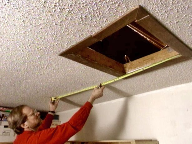 Add More Space In An Unused Attic By Installing Pull Down