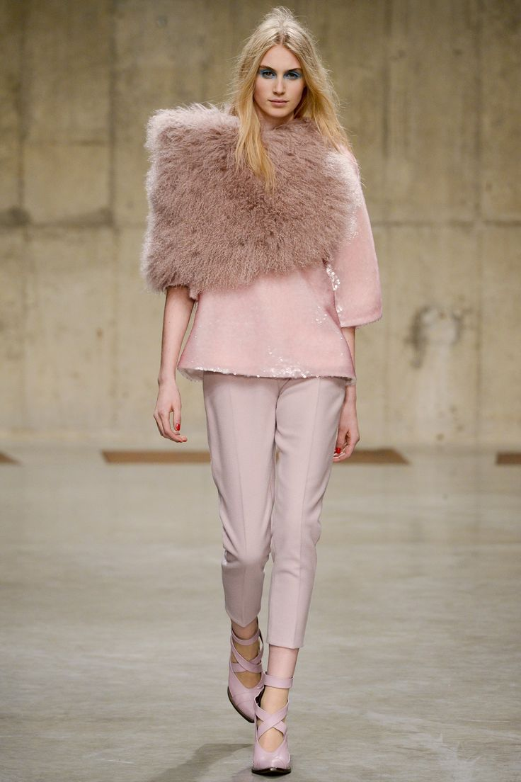 Blush Pink Trend - Topshop Unique AW13