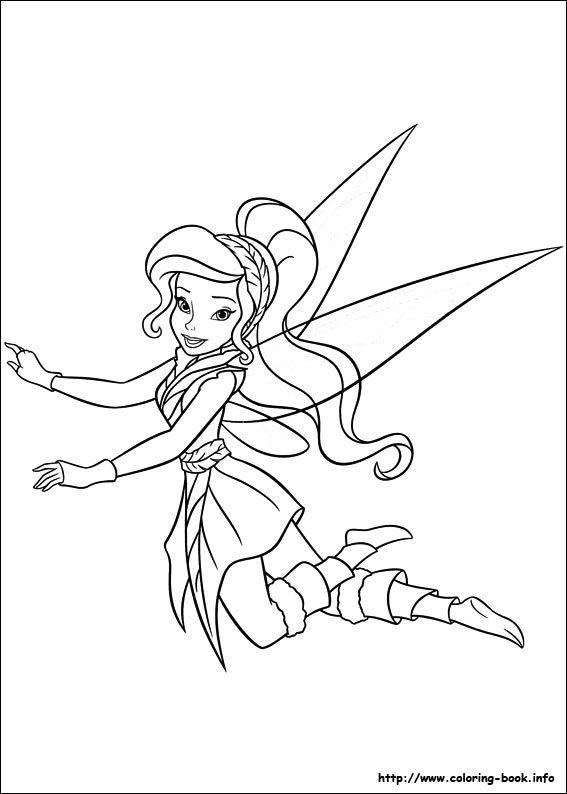 103 best Disneys Fairies Coloring Fairies images on Pinterest
