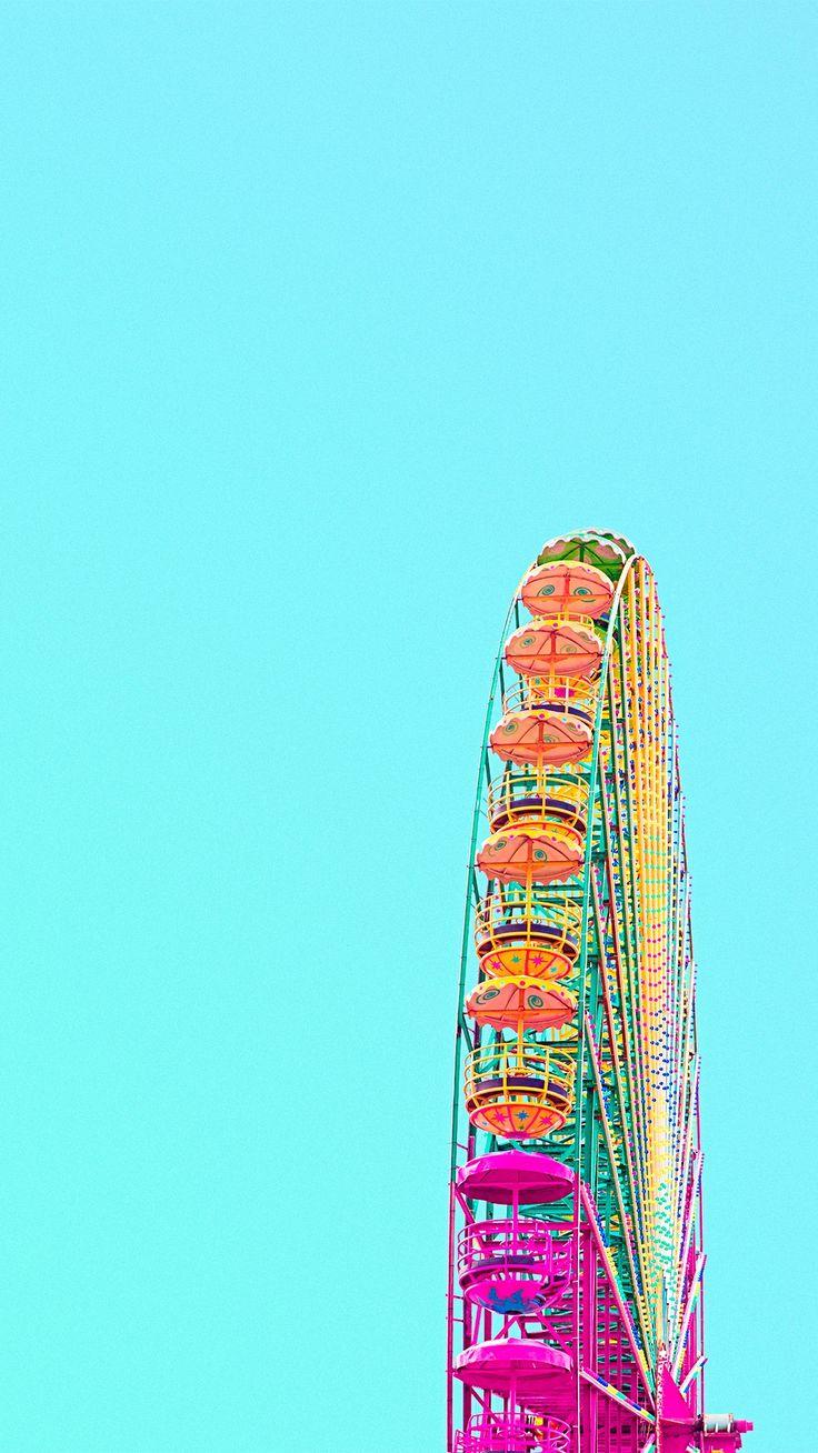 London Eye Colorful iPhone 6 Plus HD Wallpaper