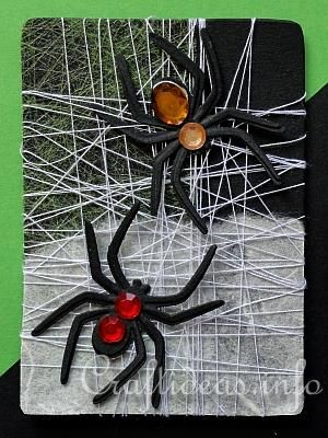 Spooky Spiders Artist Trading Card