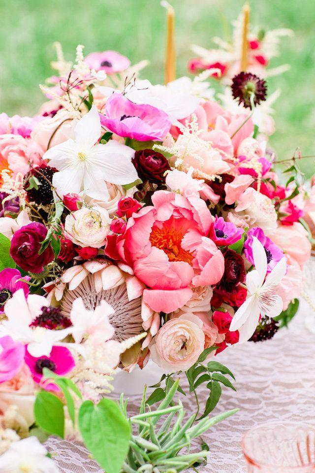 Bohemian bridal shower from smitten magazine