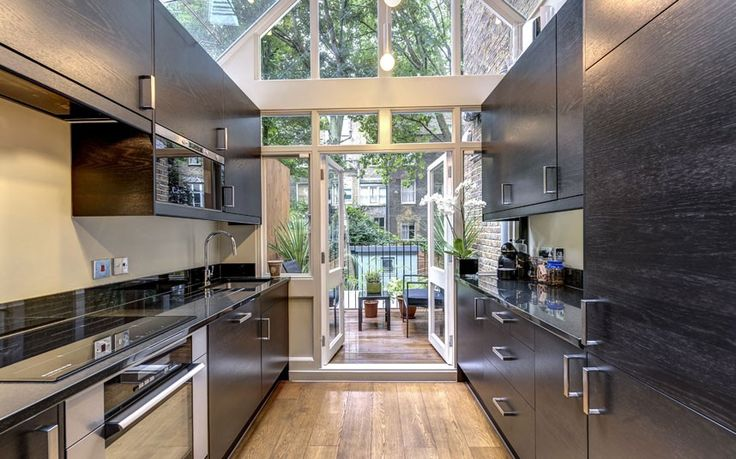 1000 images about kitchen extension on pinterest galley On galley kitchen cabinets for sale