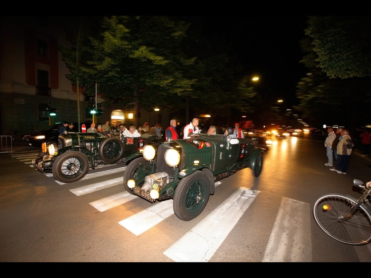 Bentley Blowers at 2012 Mille Miglia