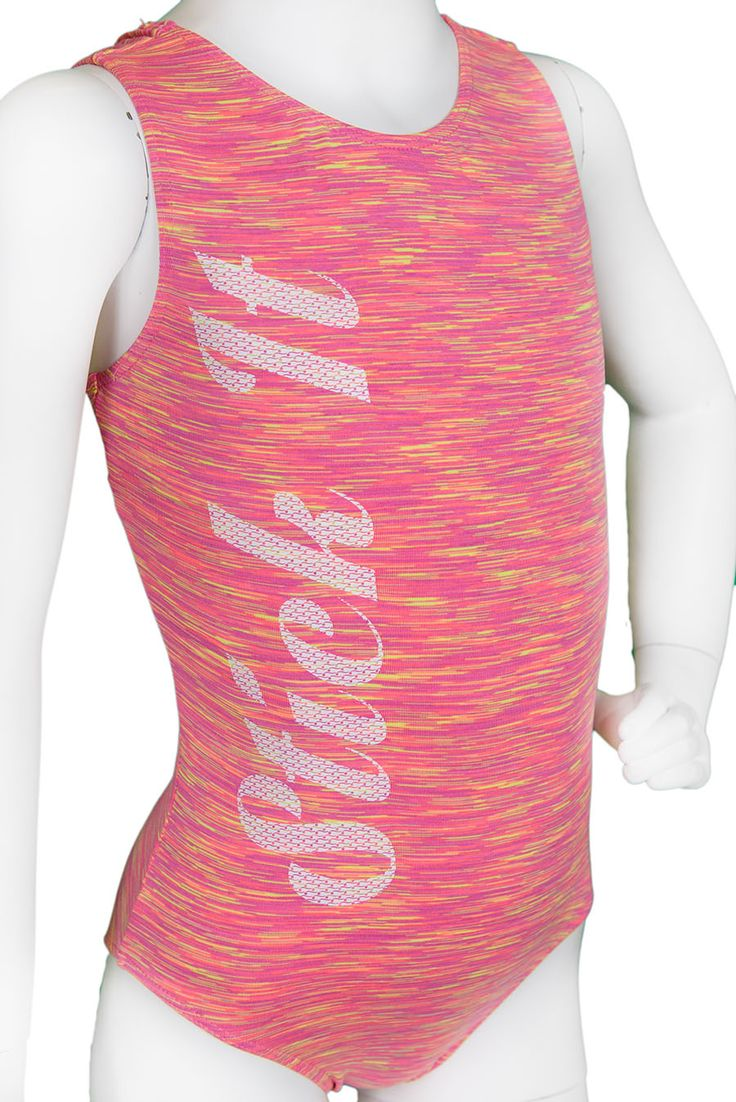 Destira: Pink Jersey Stick It Leotard #leotards #leotard #gymnastics #gymnast
