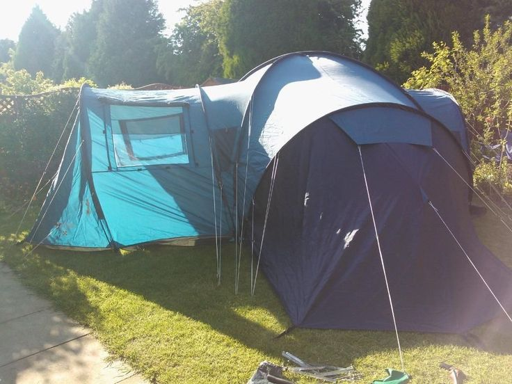 Family Tent 6 Berth - VANGO Colorado 600 DLX Excellent Condition with Carrying Case | Perth & 24 best Holiday images on Pinterest | Camping france Frances o ...
