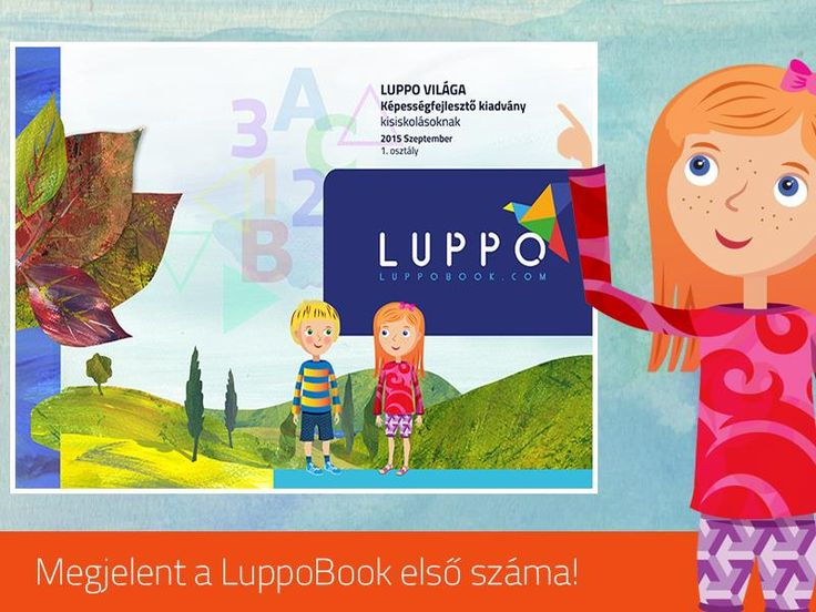 LuppoBook is a workbook for children who just started the primary school.  Make learning fun and easy!