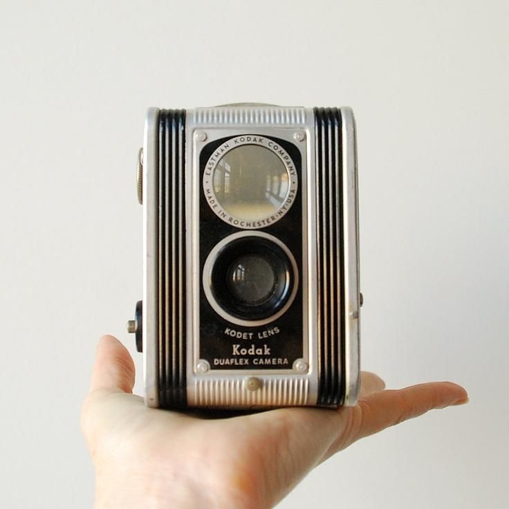 Kodak Duaflex Vintage Camera Antique Box Camera 620 Film. $26.00, via Etsy.