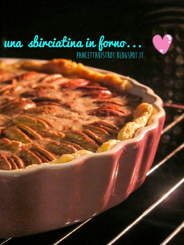 Pancetta Bistrot - ricette creative dall'Italia e dal mondo: Crostata allo sciroppo d'acero e noci pecan