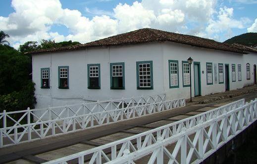 Casa da poetisa Cora Coralina. Goiás Velho, GO, Brasil.