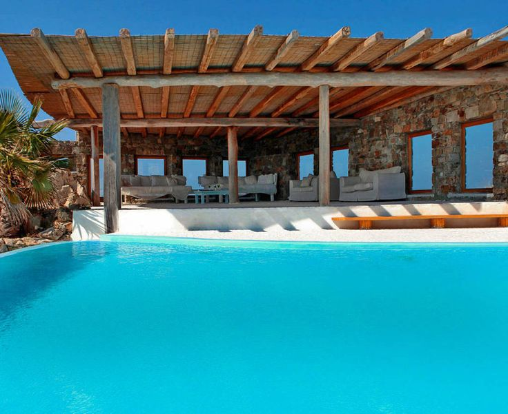 poolside bliss at Fairytale Suite, luxury rental for two in Mykonos