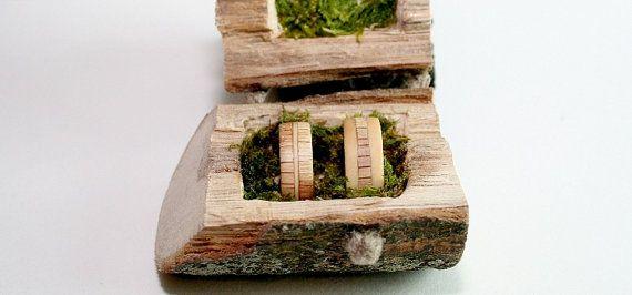 The Light Lighthearted Engagement Rings  #engagemantrings #woodenrings #wood #rings #handmade