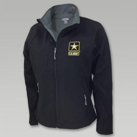 Army Ladies Soft Shell Jacket