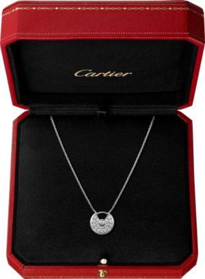 Cartierのアミュレット ドゥ カルティエ ネックレス