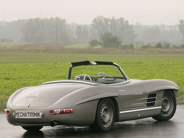 special cars mercedes benz 300 sl roadster by mechatronik want pinterest cars mercedes. Black Bedroom Furniture Sets. Home Design Ideas