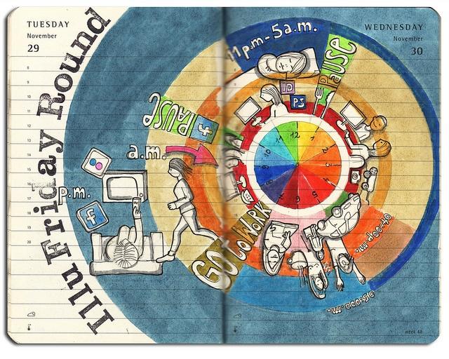 40 best images about Art ED: Creative Color Wheels on ... Sabrina Ward Harrison Sketchbook