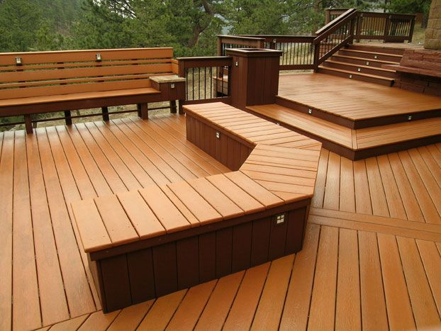 17 Best Images About Deck Benches On Pinterest Fire Pits