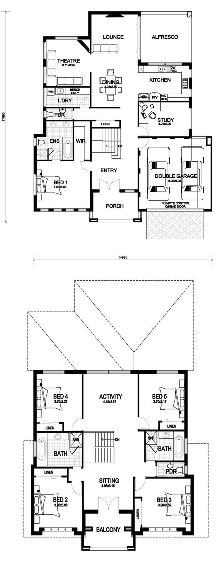 Endeavour #HomeDesign #FloorPlan  - Rosmond Homes