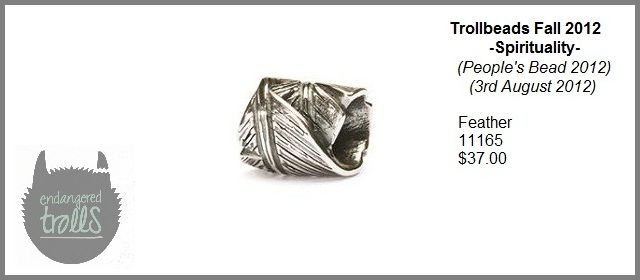 Trollbeads Fall 2012 Spirituality Collection - Feather