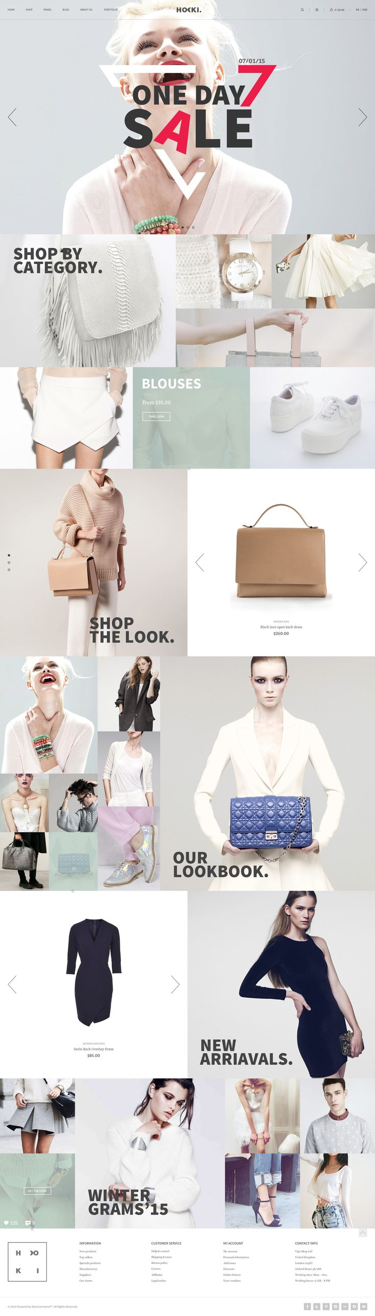 Hoki – eCommerce Template on Inspirationde