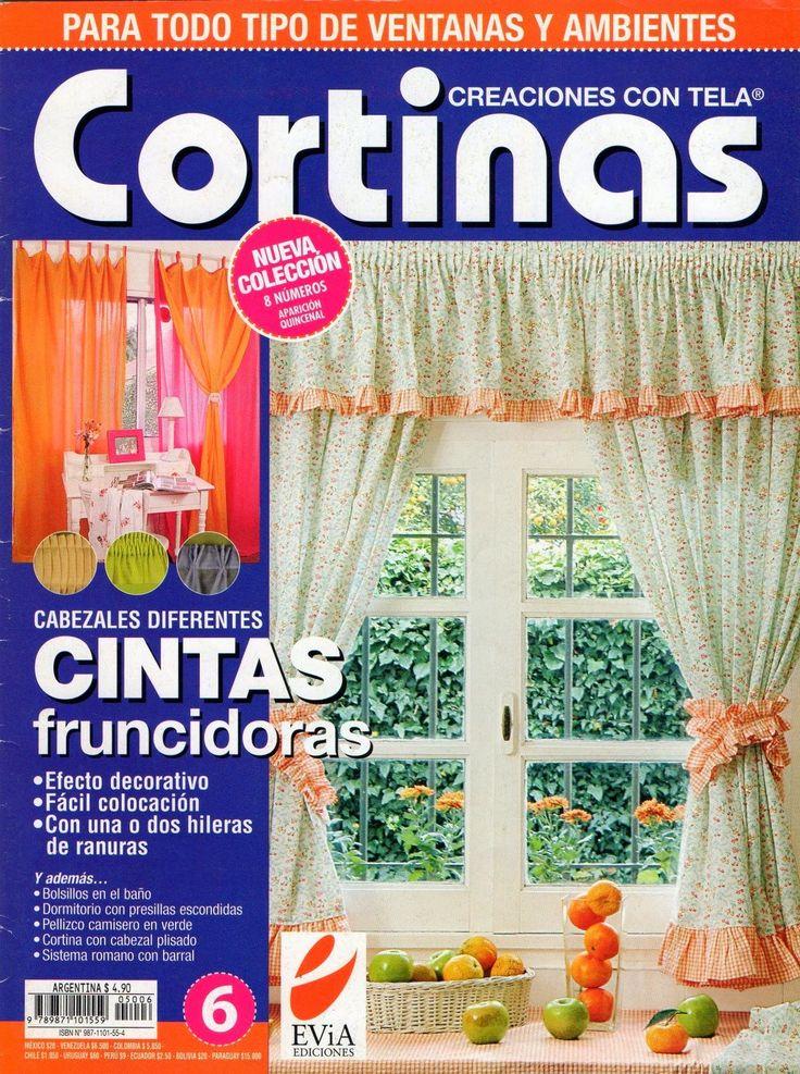Como hacer cortinas paso a paso - Revistas de manualidades Gratis