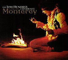 Live at Monterey is a posthumous live album released on October 16, 2007. It contains Hendrix' performance with his band, The Jimi Hendrix Experience, at the 1967 Monterey Pop Festival.