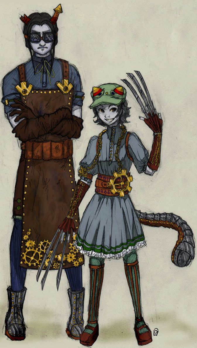 steamstuck equius and nepeta by *xthebucketwhisperer on deviantART