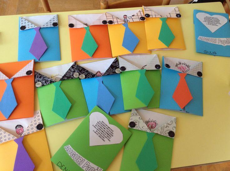 Creati con i bambini della scuola primaria di Gorizia in occasione della Festa del papà