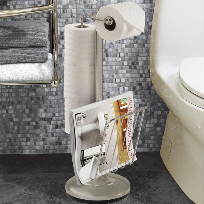 Free Standing Toilet Paper Holder