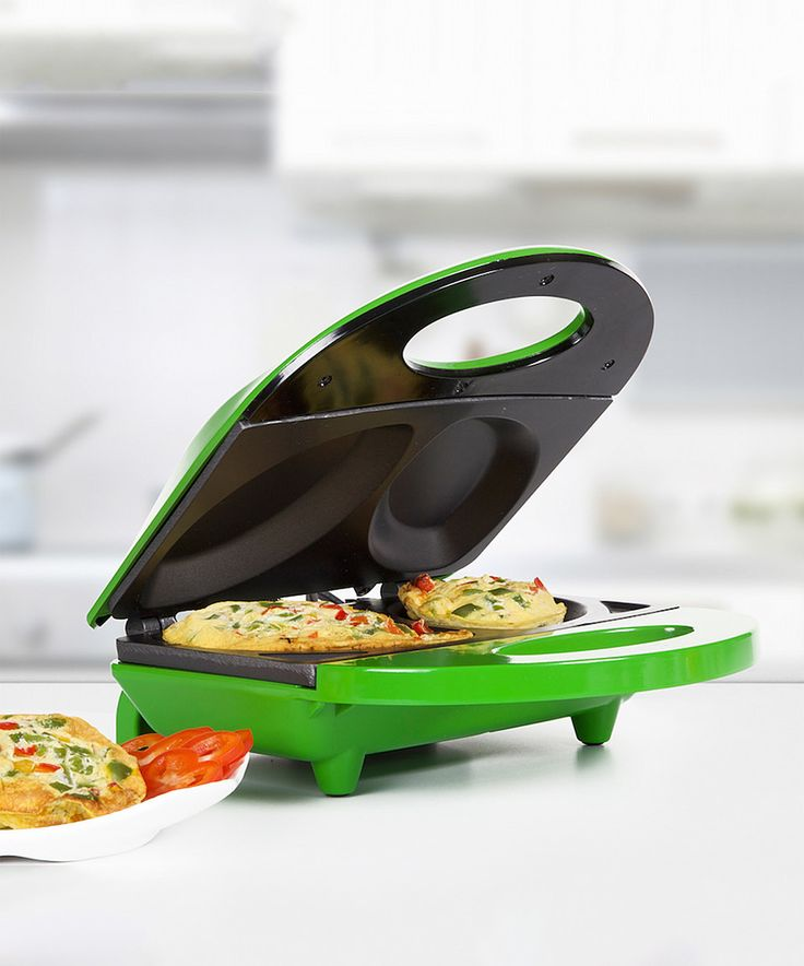 Holstein Housewares Green Nonstick Omelette Maker by Holstein Housewares #