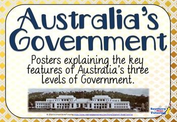 REMEMBER click 'Follow Me' to receive updates in your inbox of new products. New products are added weekly. Don't miss out!These high quality posters (31 in total) have been designed to compliment the HASS curriculum in Australia. The posters come together to form a flow chart, outlining the roles and responsibilities of the 3 levels of government within Australia, local, state and federal.